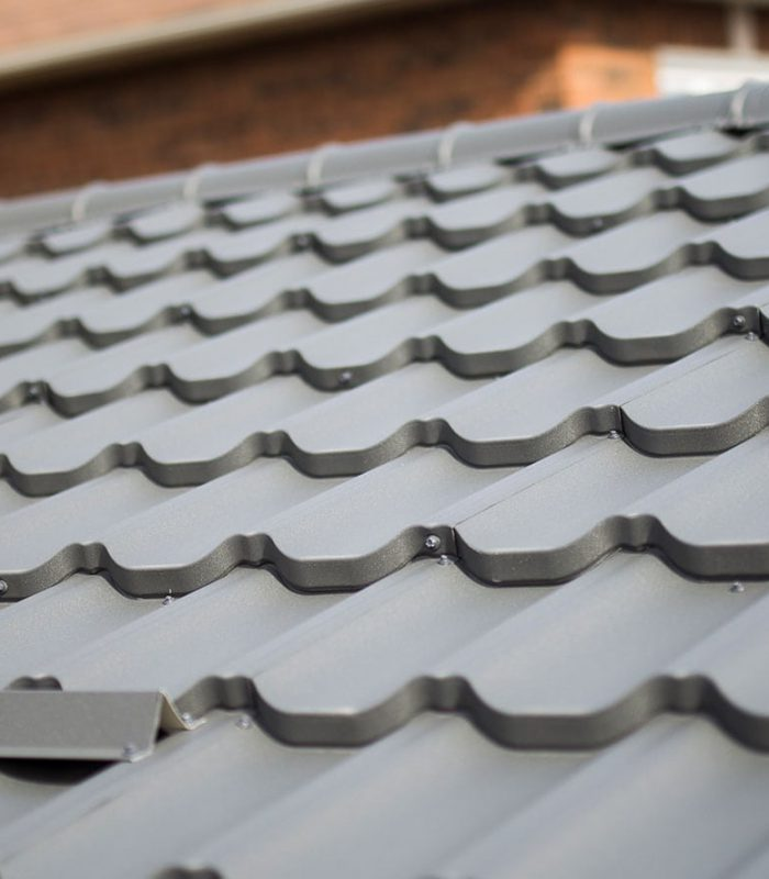 Super metal roofing by Worthouse