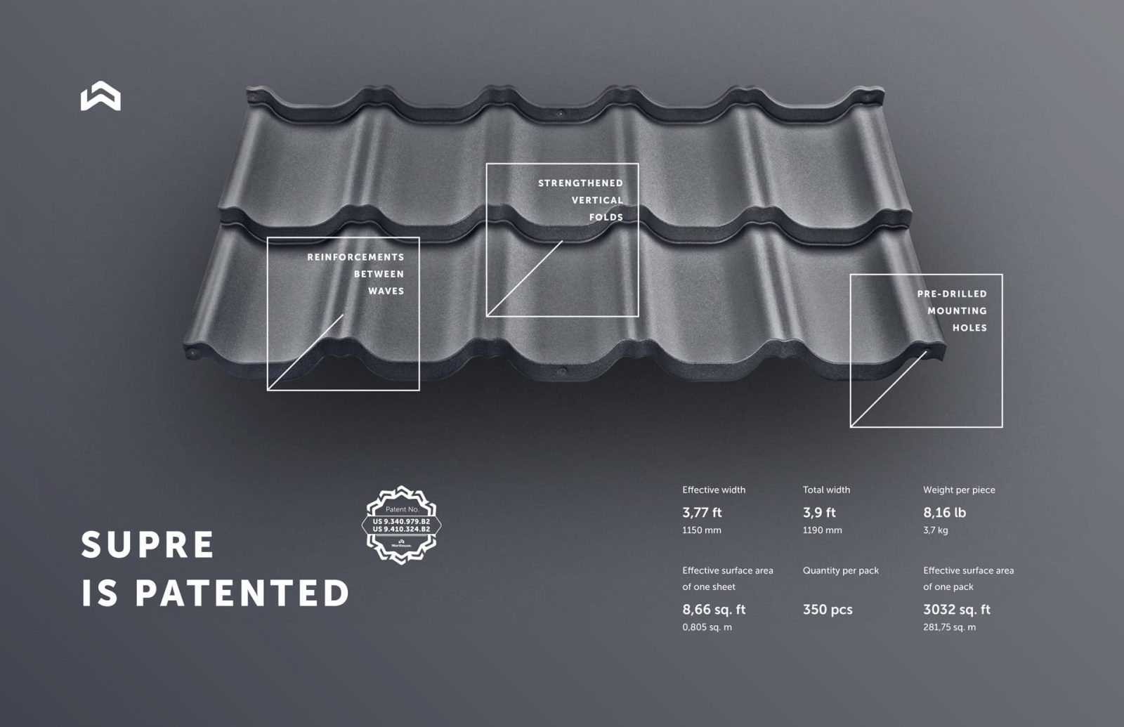 supre metal roofing features