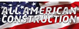 all american construction logo