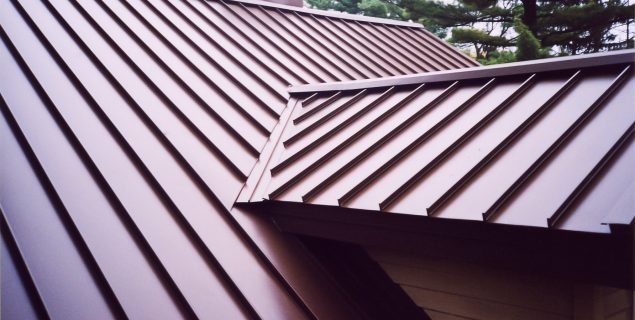 metal roof by worthouse